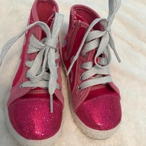 Other - Pink Sparkle High Top Paw Patrol Sneakers